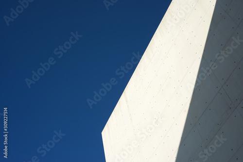 Fototapeta Concrete building detail obraz