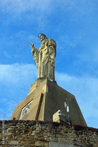 Christus Statue in San Sebastian