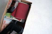 Secret Stash Box In Case Of Harassment Or Disclosure.