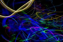Long Exposure, Beautiful Pattern At Night