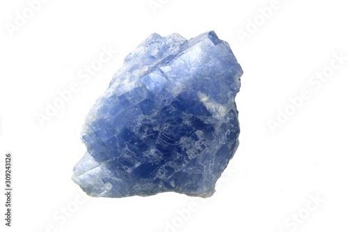 Photo Calcite bleue détourée