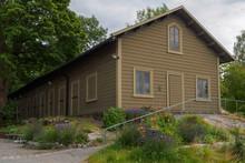 Wooden House In Scansen, Stock...