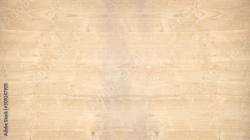 Fototapeta old brown rustic light bright wooden texture - wood background panorama banner long obraz na płótnie
