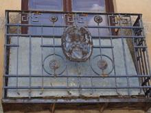 Artistic Graffiti Street Art On The Road To Santiago De Compostela, Camino De Santiago, Way Of St. James, Journey From Castrojeriz To Poblacion De Campos, French Way, Spain