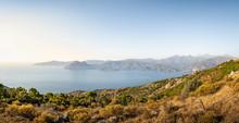 View From Belvedere De Saliccio, Piana, Corse-du-Sud, Corsica, France