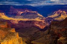 Haze Over Grand Canyon