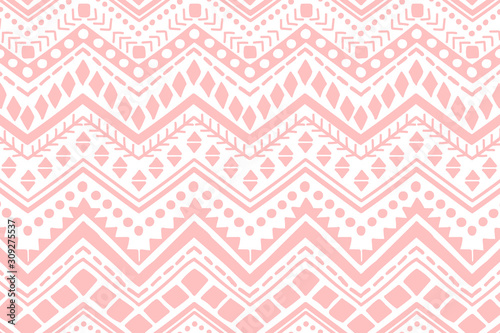 Ethnic pattern. Hand drawn background