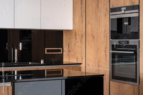 Fototapeta Stylish kitchen interior obraz