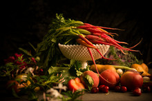 STill Life Of Vegetable And Fr...