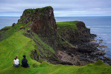 A Brother & Sister At Brother's Point (Rubha Nam Brathairean), Isle Of Skye