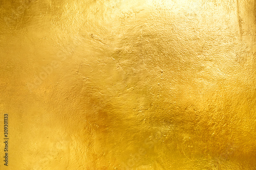 Photo Gold shiny wall abstract background texture, Beatiful Luxury and Elegant