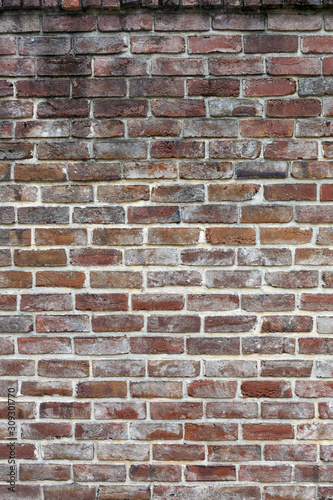 brick brown wall background