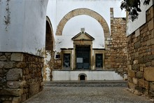 Entrance To Church Of The Holy Sepulchre