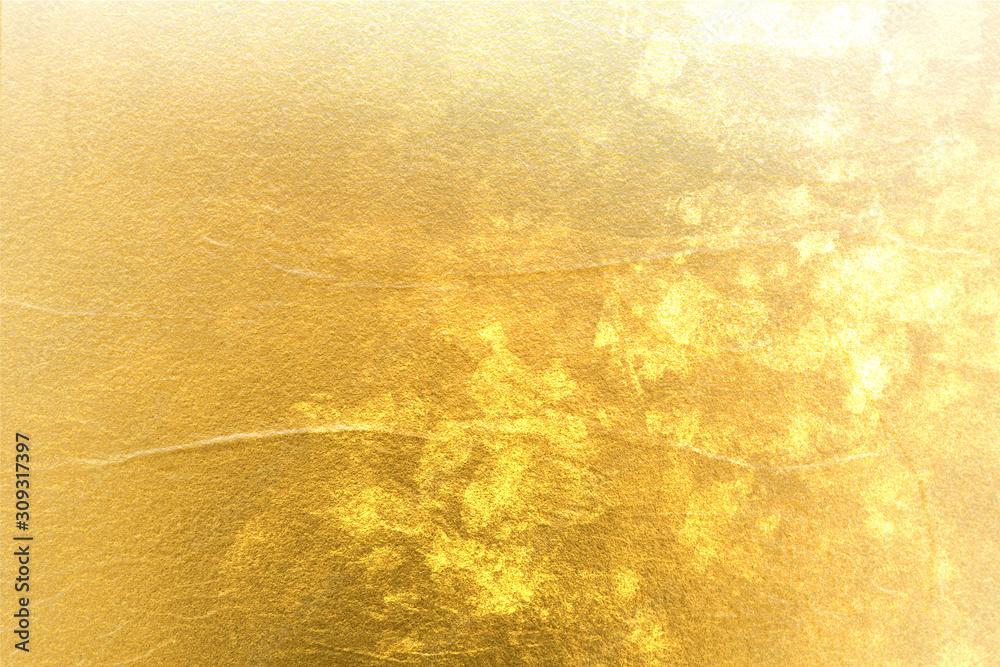 Fototapeta 深みのある金色の抽象的な背景