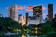 Leinwanddruck Bild -  Central park South , New York City
