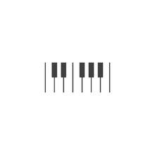 Piano Logo Icon