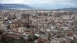 Malaga cityscape. View of Malaga cityscape. Spain