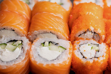 Detail Of A California Maki An...