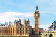 Big Ben And Houses Of Parliame...