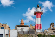 Old Lighthouse At The Old Jaff...