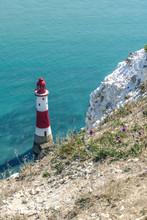Beachy Head Lighthouse East Sussex England Leuchtturm
