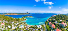St Thomas US Virgin Islands Caribbean Drone Aerial