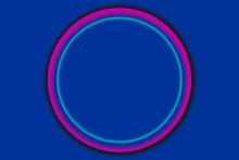 A Simple Circle Shape On A Cla...