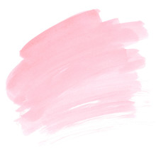 Pink Watercolor Stain Soft Pai...