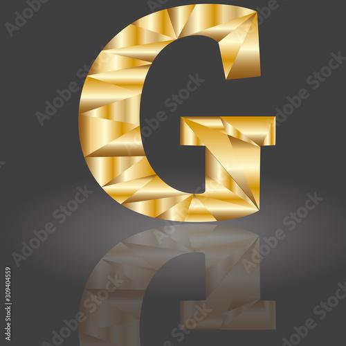 Fotografia, Obraz Polygonbuchstabe G1