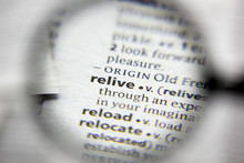 The Word Or Phrase Relive In A...