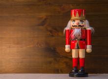 Vintage Christmas Soldier Nutc...