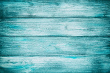 Blue Old Wood Background Textu...