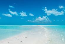 The Pristine Beaches Of White Cay, Exumas, Bahamas