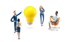 Team Searching For New Ideas S...