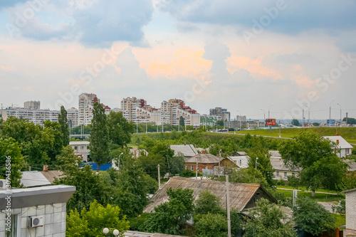 streets of the city of Belgorod Canvas Print
