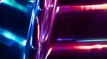 Reflection Of Light On Hologra...