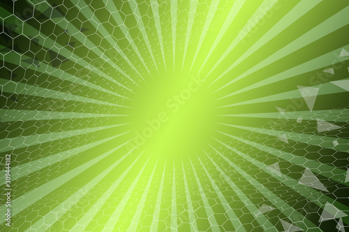 abstract, green, hexagon, wallpaper, illustration, pattern, design, texture, geometric, blue, light, graphic, shape, 3d, bright, art, technology, colorful, business, bokeh, backdrop, color, white - 309444182