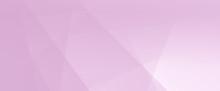 Sfondo Rosa Web Banner Lungo Minimal