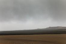 Winter Cloudy Landscape