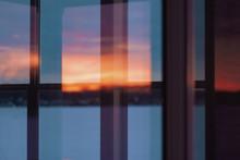 Reflection Of Vibrant Sunrise ...
