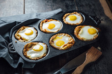 Foof: Baked Toast Bread Egg With Tomato