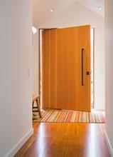 Clean, Modern Design House Entrance