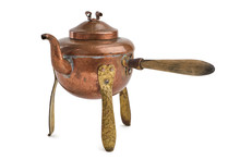 Vintage Rustic Copper Tea Kett...