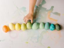Little Hand Grabbing Easter Egg