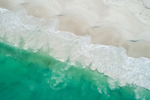 Aerial Image Of Summertime Bea...