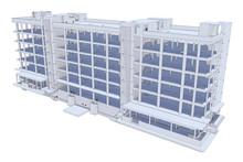 The Model Of Monolithic Frame ...