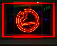 Neon Sign, Cigarette, Smoking ...