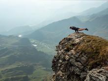 Yoga Pose On The Edge
