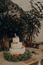 Beautiful Wedding Cake Detail
