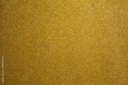 Fototapeta fondo de brillantina dorado glitter navideño obraz